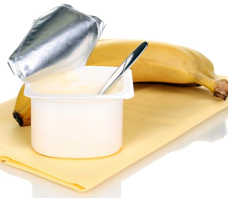 Hỗn hợp chuối và sữa chua cũng cho tác dụng tương tự.