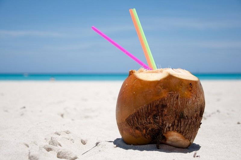Giảm cân nhanh chóng bằng việc uống nước dừa mỗi ngày