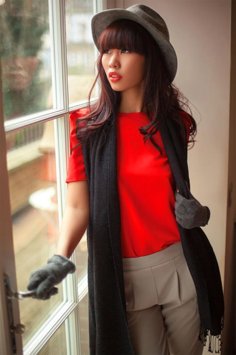 Những mỹ nhân của showbiz Việt luôn gắn liền với mái tóc dài bồng bềnh 3