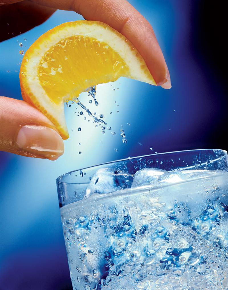 Luôn quan tâm bổ sung nước vào thực đơn.