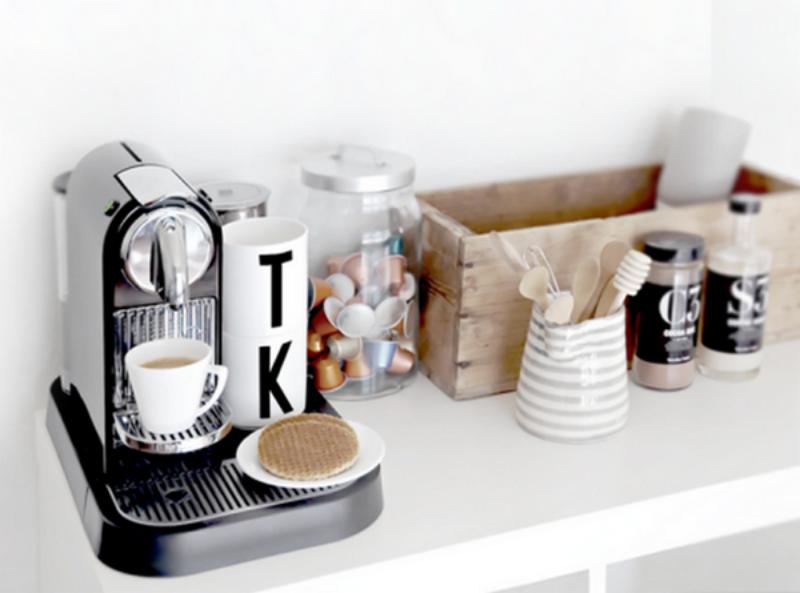 Một góc thú vị cho tách cafe chiều.