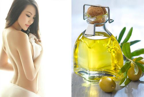 Hiệu quả làm đẹp toàn thân đơn giản với dầu oliu7