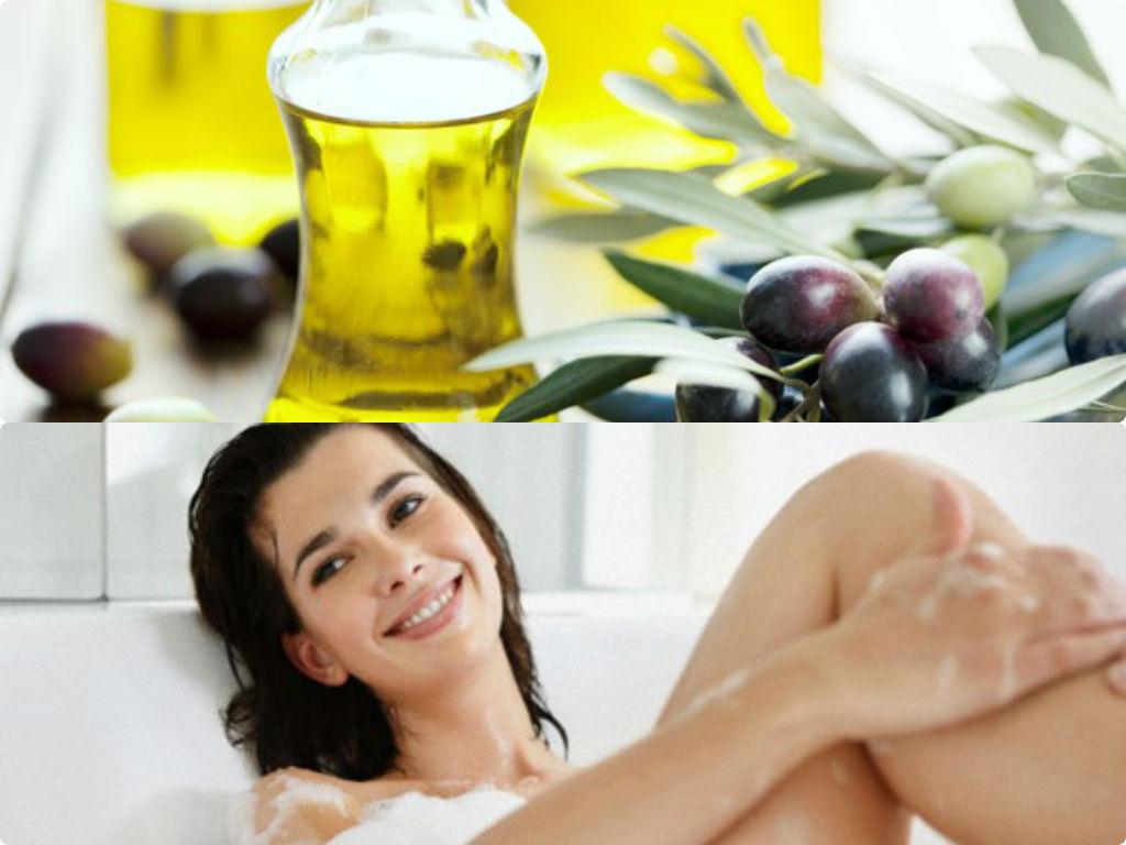Hiệu quả làm đẹp toàn thân đơn giản với dầu oliu2
