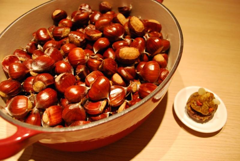 Bạn có thể tận dụng hạt dẻ trong bữa ăn.