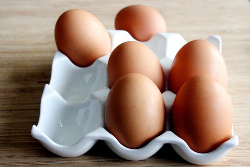 Trứng là món ăn gắn liền với các nàng giảm cân.