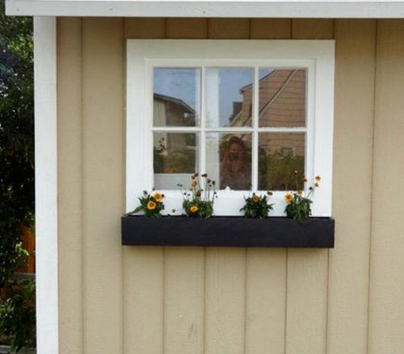 Gần cửa sổ là nơi bạn dễ dàng trang trí nhiều vật xung quanh.