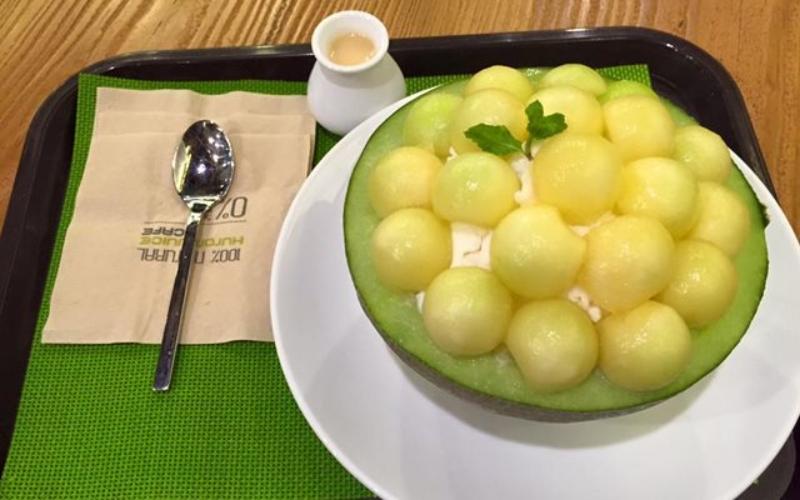 Món còn có tên gọi khác là patbingsu đấy.