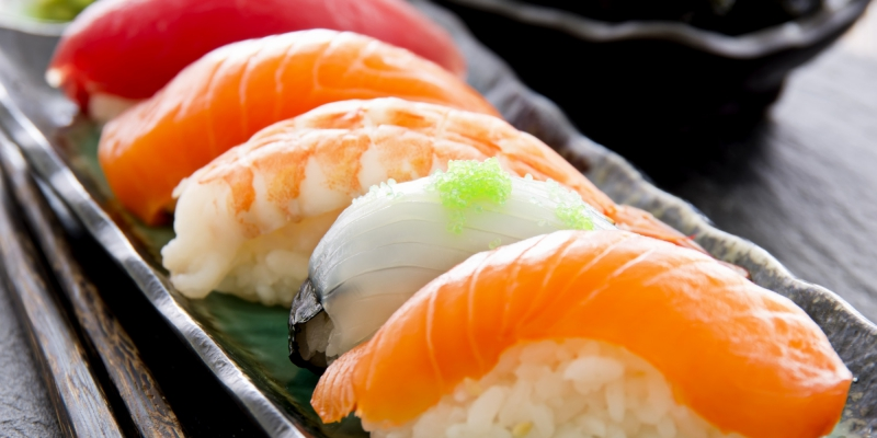 Sushi có thể ảnh hưởng đến làn da bạn đấy.