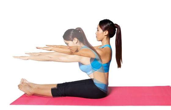 Những bài tập yoga giúp chị em cải thiện giấc ngủ và giảm stress hiệu quả2