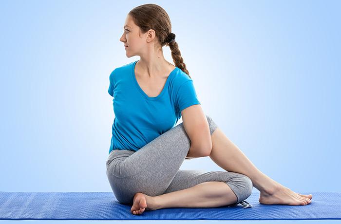 Những bài tập yoga giúp chị em cải thiện giấc ngủ và giảm stress hiệu quả5