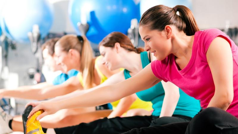 Tập thể dục nhiều giúp cơ được giãn hơn.