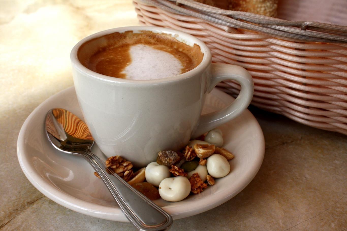 Tách cà phê thơm ngọt với hương vị đầy quyến rũ.