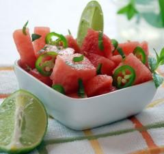 Salad dưa hấu ăn mát lạnh, giảm cân ngon miệng