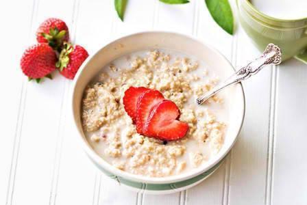 Thực đơn giảm cân lành mạnh với bột yến mạch