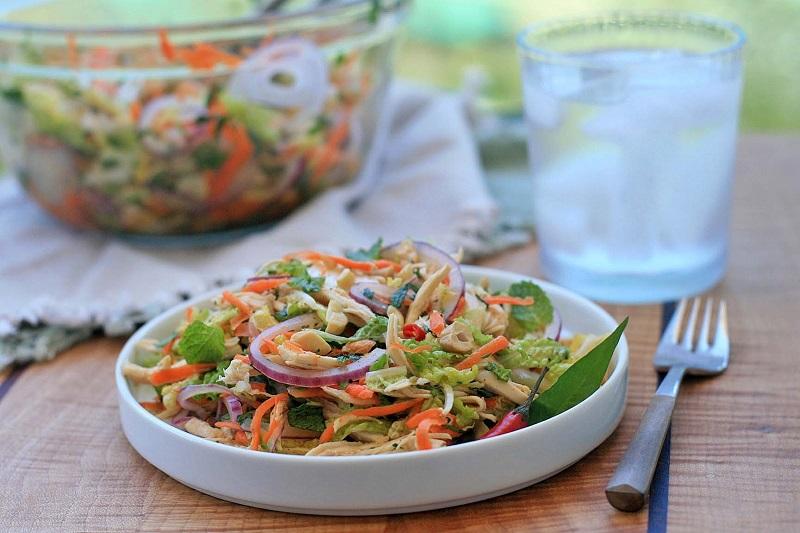 Ưu tiên các món salad