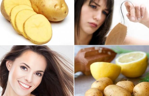 Cách làm đẹp với mỹ phẩm thiên nhiên rẻ tiền khoai tây