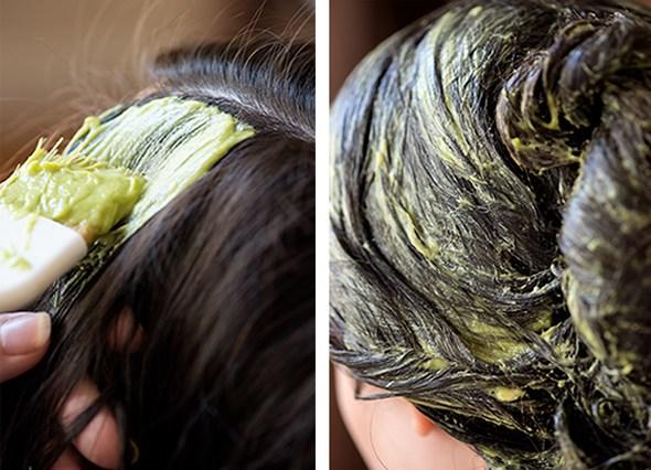 Tư vấn cách ủ tóc óng ả đen mượt tự nhiên với giá siêu rẻ với bơ và trứng4